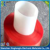 Doppio nastro adesivo acrilico rosso laterale del poliestere della pellicola di poliestere della radura della fodera