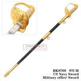 Espada comandante nós espada 97cm HK8700 dos oficiais do exército da espada da marinha