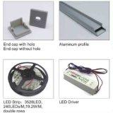 4108 L'aluminium conduit profil pour le Cabinet de la lumière avec bande LED