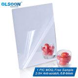 do espelho decorativo PMMA da decoração da HOME do espelho da parede de 0.8-6mm espelho plástico acrílico da prata da composição