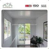 Hogar portable barato ambiental hermoso prefabricado de la casa prefabricada de la cabina de la estructura de acero
