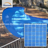 48mm*48mm de espessura 4 mm de lado a lado da piscina do mosaico de vidro 298x298