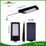 Sensor de movimiento del Radar Solar impermeable al aire libre de la luz de lámpara de ahorro de energía