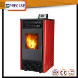 Del estilo rojo de madera controlado europeo de la estufa CPP30 de la pelotilla automáticamente