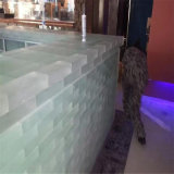 Verde di giada del mattone di cristallo per la decorazione della barra (SGS)