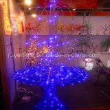 休暇の季節人工的なLEDの木の材木は装飾をつける