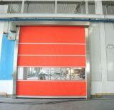 Puerta rápida de la velocidad de la persiana enrrollable del PVC