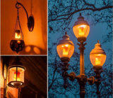 Lámparas que oscilan de la llama móvil dinámica de los bulbos de la luz LED del fuego del efecto