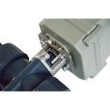 UPVC elektrisches Stellzylinder-Rollkugel-Ventil