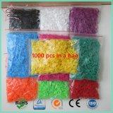 編むことは22mmの多彩なプラスチック表編みのマーカーに用具を使う