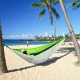Camping hamac, Trofong double hamac Hamac moustiquaire de tissu de nylon pour la plage, voyage, randonnée pédestre, montagne, l'aventure, Outdoor Jungle ESG10274