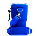 El deporte de neopreno titular de la botella de agua de la bolsa de refrigerador