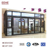 Горячая продажа стеклянной веранде вторая спальня панелей китайского поставщика