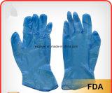 Одноразовые хирургические перчатки нитриловые графитового порошка