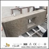 China-Fabrik passen Granitcountertop-Küche-Insel an
