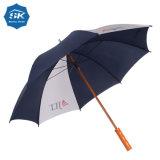 La publicité Mnaual Open Close moins cher 27pouce Parapluie en bois