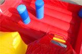заводская цена детская игровая площадка надувной замок прыжком с водными горками