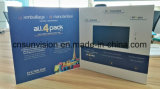 Deslice la tarjeta de nombre de la empresa catálogo de Vídeo LCD de 4,3 pulg.