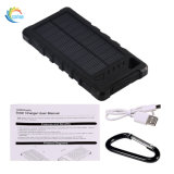 Côté portatif réel de l'énergie 16000mAh solaire de ports USB duels