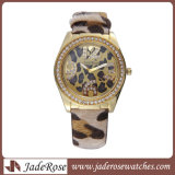 Bande de cuir Watch Fashion montre-bracelet montre en alliage de Nouveau Style Watch