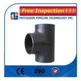 16 pulgadas te de la instalación de tuberías de acero de carbón del igual de 90 grados