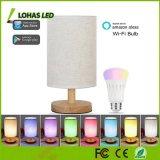 Lámpara de vector equivalente elegante multicolora del bulbo de lámparas de vector del LED A19 60W WiFi Farbic