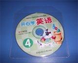 Capa do DVD da camisa CD CD de plástico claro da Luva