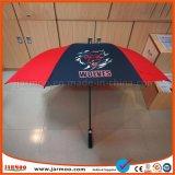 Зонтик гольфа верхнего качества выдвиженческий с изготовленный на заказ печатание логоса