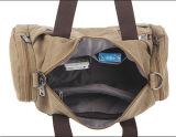 Мужчин Vintage сумки в выходные дни поездки Canvas Duffle багажного отделения подушки безопасности