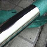 ASTM A554 304 para tubo de aço inoxidável polido aplicação decorativa