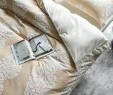 セットされるジャカード結婚式の慰める人カバー3Dデザイン寝具(妖精)