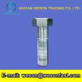 DIN933 8.8 lourde de qualité Vis et écrou hexagonal galvanisé