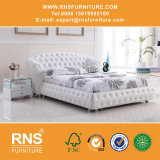 Кровать B102# классицистической кожаный кровати классицистическая
