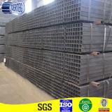 Труба Stock общего утюга углерода прямоугольная стальная