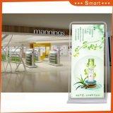 Portello-Tipo bandiera di vendita di promozione della fabbrica del banco di mostra di pubblicità esterna del basamento