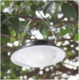 Luz de acampamento solar, branco, 60PCS diodo emissor de luz do MERGULHO Phi5, 3.5W, 360lm, iluminando Mode100%, 60%, flash de 30%, SOS, jardim/parede/pátio/caminho/lâmpada ao ar livre da estrada
