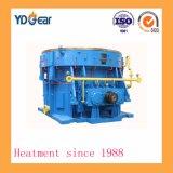 Módulo de gran engranaje helicoidal doble árbol utilizado en la industria del cemento
