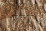 Tessuto di Chenille del poliestere 100 per il sofà dalla viscosa e dal poliestere