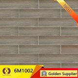 azulejo de suelo de cerámica esmaltado madera de 600*150m m (6M502)