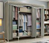 금속 관을%s 가진 가정 가구 큰 수용량 직물 옷장