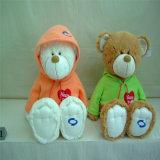 ICTI aprovou o mini urso pequeno feito sob encomenda da peluche da roupa