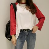 Hot Sale Fashion monter le manchon de Raglan bon marché T-shirt unisexe