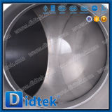 Didtek F51 de acero inoxidable Dúplex suave de alta presión válvula de bola de muñón de sellado