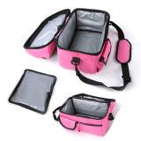 Взрослые плечо тепловой обед изолированный пикник женская сумка с охладителя