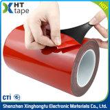 赤いはく離ライナーのVhbの絶縁体の泡の倍はテープ味方した