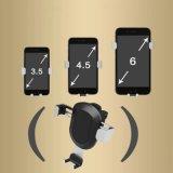 Teléfono celular de PVC ABS+ titular titular de la salida de coches para Smartphone GPS