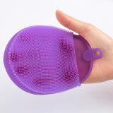 Großhandels-FDA haften nicht Teller-Wannen-Filterglocke-Cup-Mischmaschine-Frucht-Gemüse-Silikon-Küche-Reinigungs-Reinigung-Pinsel