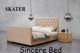 Sk23 미국식 침실 직물 침대