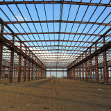 Granja avícola prefabricada de la estructura de acero para los clientes de la India