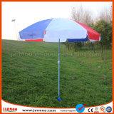 Spezielles Firmenzeichen gedruckter preiswerter Cutomized gerader Regenschirm